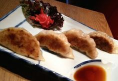 Dumplings at Oki Nami