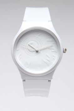 all white watch. Jack Threads, Brown Leather Watch, All White, Watches For Men, White Watches, Clock, Mens Fashion, Jewels, Pure Products