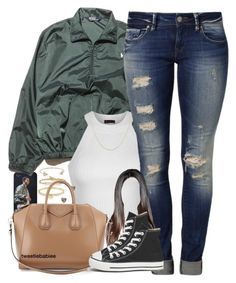 """""""IT'S MY BIRTHDAY'S EVE!!!"""" by x0-chelseaa ❤ liked on Polyvore featuring Ralph Lauren, Ally Fashion, Mavi, Hoorsenbuhs, BERRICLE, Michael Kors, Lori Kassin, Givenchy and Converse"""