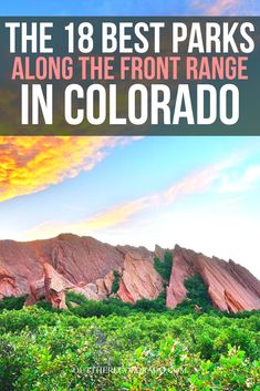 Here are 18 of the best parks and open spaces found along the Front Range in Colorado. #OutThereColorado #Travel #Colorado #ColoradoVacation #ColoradoSprings #Denver #Breckenridge #RockyMountainNationalPark #Mountains #Adventure #ColoradoFall #ColoradoPhotography #ColoradoWildlife #Mountains #Explore #REI #optoutside Mountain Park, Table Mountain, Mountain States, Rocky Mountain National Park, Coffee Zone, Chautauqua Park, Cheyenne Mountain, Canyon Park, Valley Park