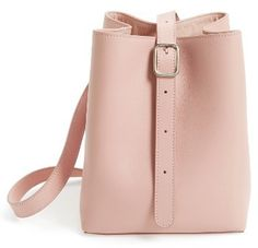 Creatures Of Comfort Small Smooth Leather Apple Bag - Pink