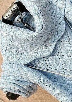 Геометрический узор для вязания свитера