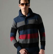 Fashionable men cashmere sweaters