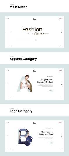 Mr.Bara - Fashion Minimal Concept is a homepage concept in big project Mr.Bara   A Premium Mutil-Ecommerce PSD Template.https://goo.gl/1JxwDu