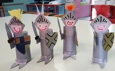 Make Your Own Paper Roll Princess Crafts Art For Kids, Crafts For Kids, Arts And Crafts, Toilet Paper Roll Crafts, Paper Crafts, Castle Crafts, Fairy Tale Crafts, Princess Crafts, Medieval Crafts