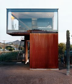 Articles about 8 modern desert homes. Dwell is a platform for anyone to write about design and architecture. Container Buildings, Container Architecture, Amazing Architecture, Interior Architecture, Interior Design, Building Architecture, Desert Homes, Container Design, Design Case