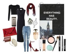 """""""hijab chique femme"""" by larein-mina on Polyvore featuring mode, Amanda Wakeley, Topshop, Chelsea Paris, NOVICA, Diamondere, Edward Bess, NARS Cosmetics, Alexander McQueen et Lord & Berry"""