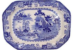 Antique Mason's Chinoiserie Platter on OneKingsLane.com