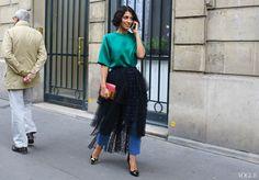 Chloé skirt, Nicholas Kirkwood shoes