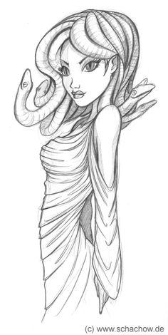 Sexy medusa medusa pinterest - Tatouage gitane signification ...