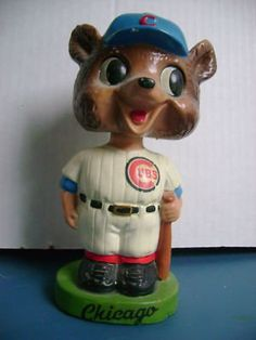 Here we go! Chicago Cubs Vintage Bobblehead