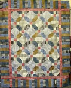 Memory quilt - Life is a Stitch: Seven Shirts + Seven Steps = One Thrifty Quilt Plaid Quilt, Tie Quilt, Quilt Top, Shirt Quilts, Flannel Quilts, Quilting Tutorials, Quilting Projects, Sewing Projects, Quilting Ideas