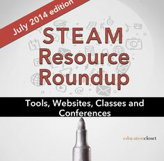 Need a toolkit to help you get started with STEAM? Try these awesome resources!