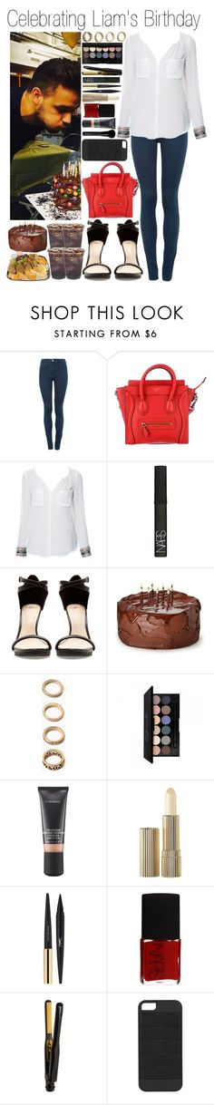 """• Celebrating Liam's Birthday"" by didi-horan ❤ liked on Polyvore featuring Dr. Denim, Zara, NARS Cosmetics, Forever 21, MAC Cosmetics, Estée Lauder, Yves Saint Laurent, Triple C Designs, Givenchy and LiamPayne"