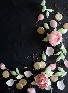 cookies & paper flowers