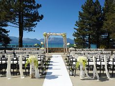 The Landing Resort and Spa South Lake Tahoe Weddings Nevada Wedding Venues 89451  Nice views. Downtown South Lake Tahoe. $150 per person.
