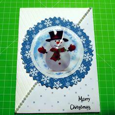 Natale ❤🎄🎁  #natale #pupazzodineve #merryxmas #celeste #neve #faidate #homemade #nobigshot #handmade #cardmakign #papercrafts