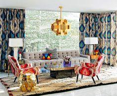 Jonathan Adler,  Modern home décor ideas, Jonathan adler interiors, jonathan adler living room, top us interior design, modern living room