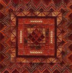 Color Delights - Rust - Needlepoint Pattern