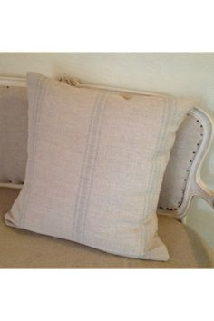 20  French Grain Sack Inspired pillow cover by Caswellandcompany