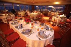 NYC skyline view at this NJ wedding location!