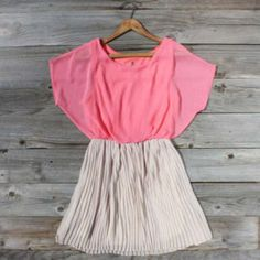 Wish Spell Dress in Peony, Sweet Women's Country Clothing