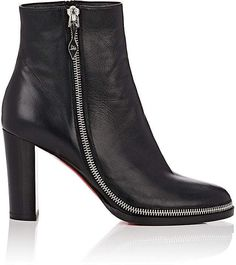#affiliatead -- Christian Louboutin Women's Telezip Leather Ankle Boots -- #chic only #glamour always