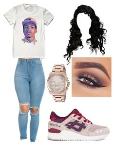 """""""I love you chance ❤️"""" by brejeasmith ❤ liked on Polyvore featuring Asics, Mary Kay and Michael Kors"""