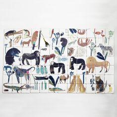 Animal Mural, Laura Carlin | Luxury Handmade Craft