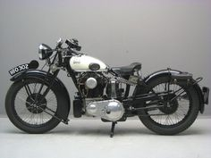 Matchless 1931 Silver Hawk 593 cc ohc four frame # 583 engine # B 805