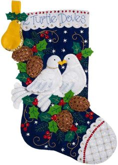 Felt Applique Christmas Stockings and Ornaments (Page 2) - 123Stitch.com