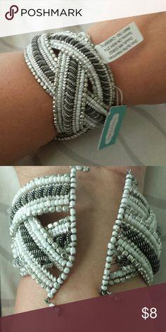 Maurices bracelet Funky wide beaded bracelet Maurices Jewelry Bracelets