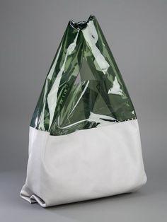 Jil Sander Sac Cuir Et Plastique - - Farfetch.com