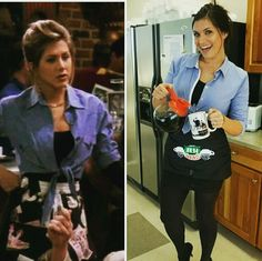 Oct sneaking up on you a little too rapidly this holiday season? Look at these Halloween outfits for Rachel Green DIY Halloween costume. Halloween Outfits, Costume Halloween, Couples Halloween, Halloween Diy, 90s Costume, College Halloween Costumes, Haloween Costumes 2017, Halloween Costumes Women Creative, Halloween Season