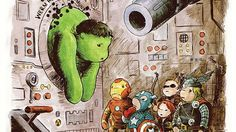 The Avengers, Winnie the Pooh Style!