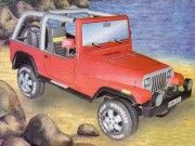 Jeep Wrangler SUV Ver.4 Free Vehicle Paper Model Download