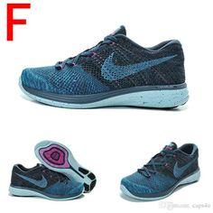 Nike womens blue flyknits