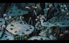 Nausicaa of the valley of the wind official film poster. Nausicaa, Studio Ghibli Background, Grave Of The Fireflies, Vladimir Kush, Nautical Art, Environment Concept, Ap Art, Good Manga, Hayao Miyazaki