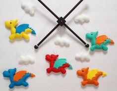 Adorable handmade baby crib mobiles let your baby fall asleep dreaming of Cinderella. Or ninjas.