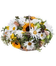 Ромашковое поле http://www.sendflowers.ru/rus/flowers/ac801.html