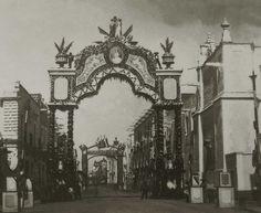 Arco levantado en honor de la emperatriz Carlota