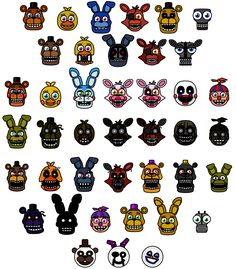 FNAF World by What-The-Frog on DeviantArt