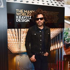 Lenny Kravitz attends Fredrik Eklund and Lenny Kravitz Celebrate Launch of DHA Capital's 75 Kenmare at 584 Broadway on February 23 2017 in New York...