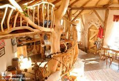 This is a beautiful straw bale roundhouse in Pembrokeshire, Wales. Pembrokeshire County Council has issued an enforcement notice saying the property is, harmful to the rural character of the locality and must be demolished. Click the picture to read the full story and help save this home. More on www.naturalhomes.org