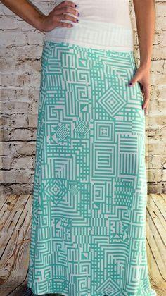 Buskins Maxi Skirt