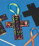 Scratch Art Cross Craft for Vacation Bible School or Sunday School