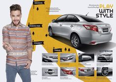 Liam // One Direction for Toyota VIOS - Thailand
