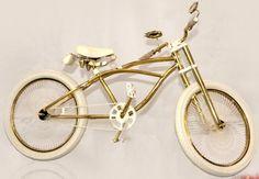Swarovski-studded gilded bike 11 - Luxatic