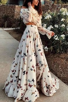 Sexy Off Shoulder Butterflies Floral Printed Maxi Dress. maxi dress for wedding guest,style maxi dress,maxi skirt,maxi dress spring,maxi dress outfit casual,long maxi dress,maxi dress outfit #maxidresselegant #maxidress #maxidressoutfit #maxidressesgorgeous #streetstyle #dresses #fashion #streetvova Elegant Maxi Dress, Sexy Maxi Dress, Maxi Dress With Sleeves, Boho Dress, Formal Dress, Long Sleeve Maxi, White Flowy Dress, Add Sleeves, Bohemian Dresses