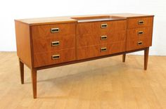 Sleek Mid Century Modern by ModCenturyVintage on Etsy, $1195.00